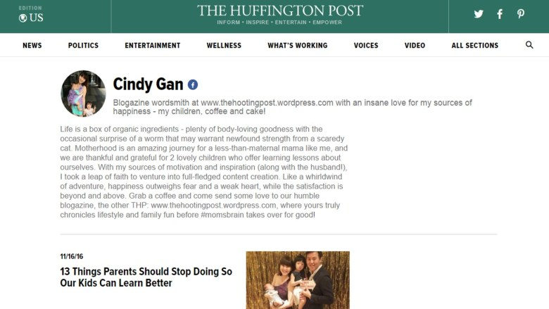 The HOOTing Post is officially a contributor on The Huffington Post!!