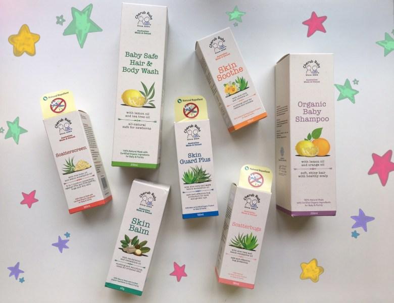 organic skincare for children Cherub Rubs review