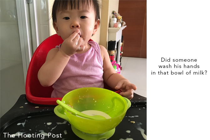 milk and cereal breakfast for toddlers singapore