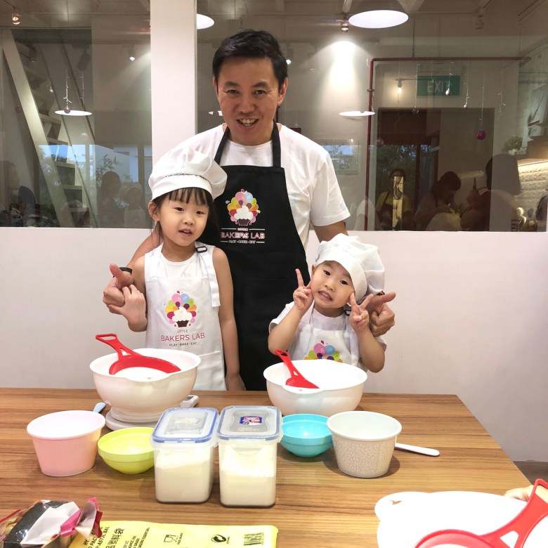 parent and child baking workshops in Singapore