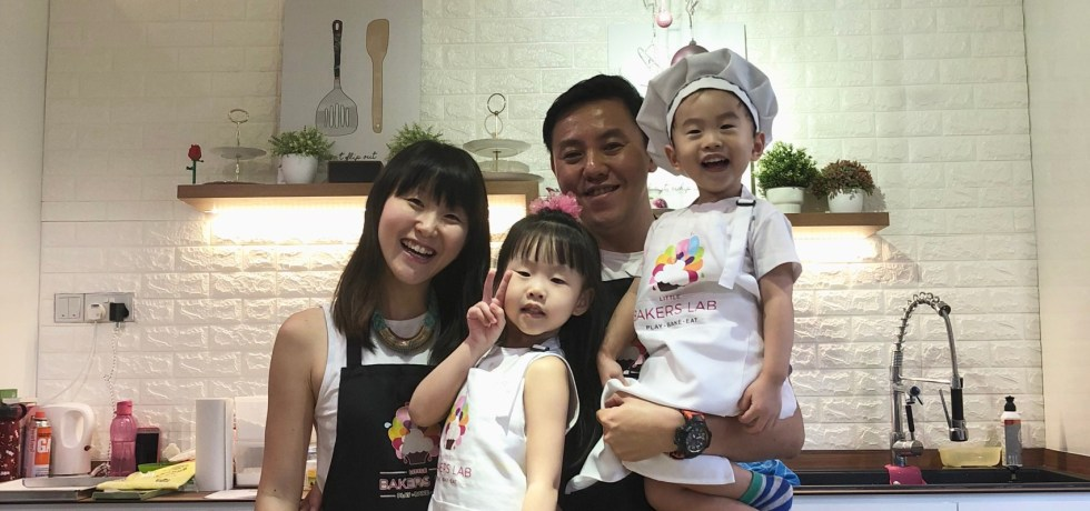 fun baking class for family in Singapore