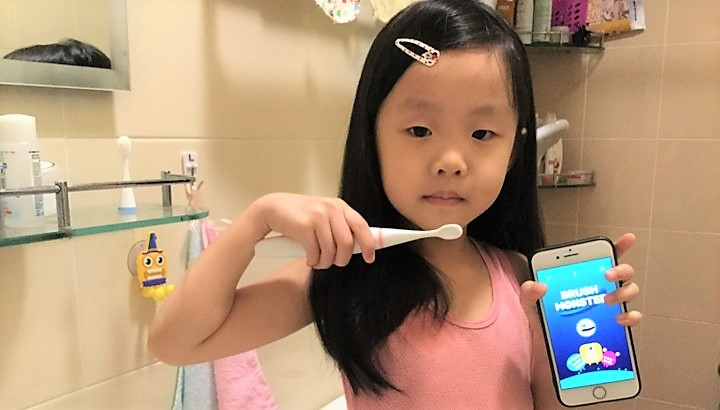 smart brush monster app review singapore mum