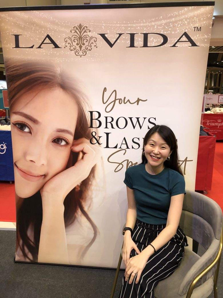eyebrow embroidery review touch-up at LA VIDA