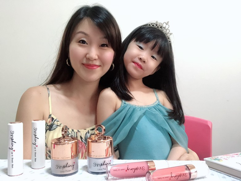singapore mum blogger children makeup review