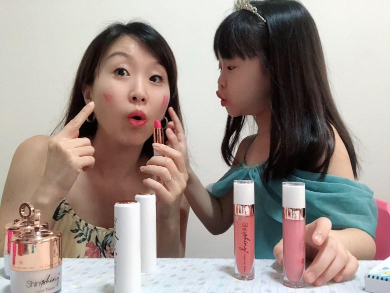 using lip and cheek stick as blusher kids-friendly makeup singapore