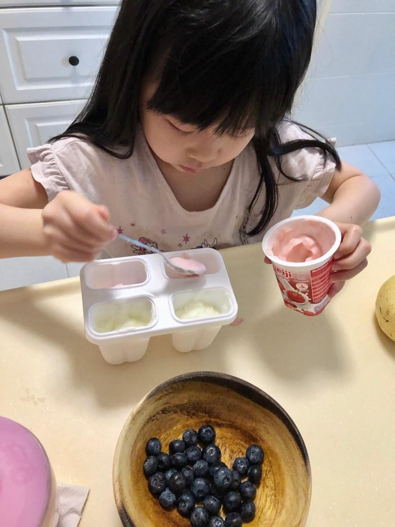 two-ingredient yogurt popsicle recipe
