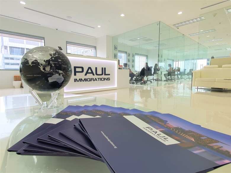 Paul Immigrations at Suntec City