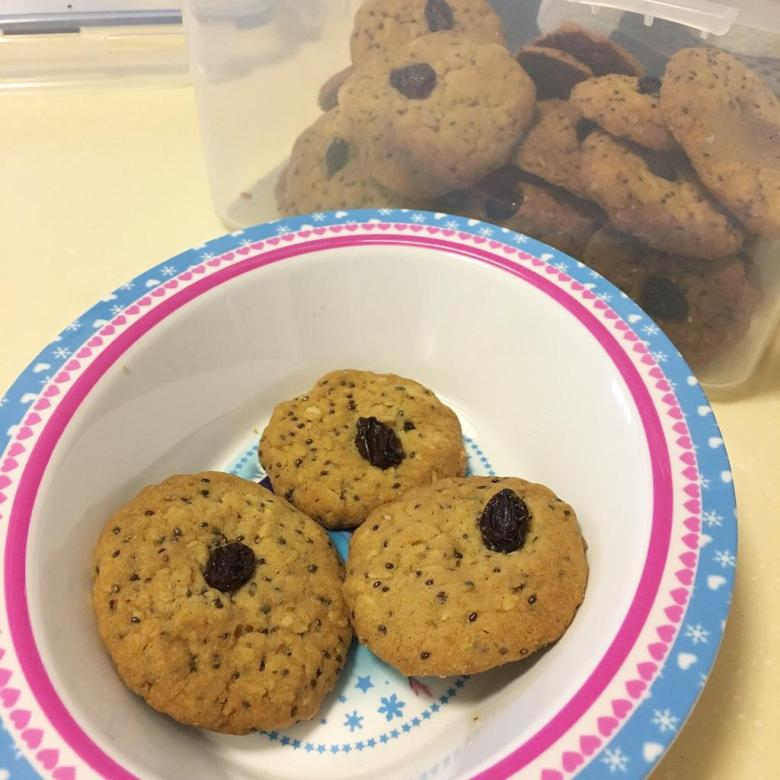 homemade oats cookies recipe for snacks