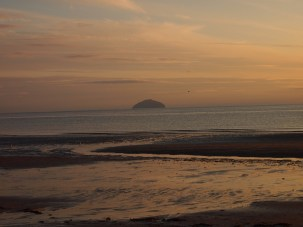 Ailsa Craig from Croy Shore