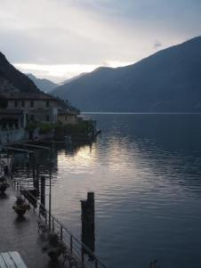 Sunrise Limone Lake Garda