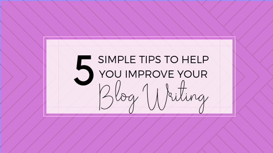 Becoming a better writer takes time and practice, but check out these simple tips for easy ways to improve your skills.