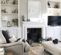 LIVING ROOM MAKEOVER - The Hoppy Home