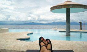 September: At Costa De Leticia resort in Cebu
