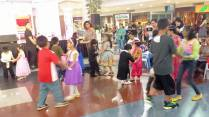 Kids learned how to dance the waltz