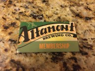 Membership to Altamont Brewing=$1