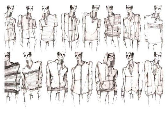 Male Fashion Design