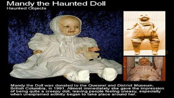 Haunted Doll Mandy  True Story  THE HORROR MOVIES BLOG