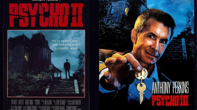 Double Feature Friday Psycho Ii 1983 And Psycho Iii 1986