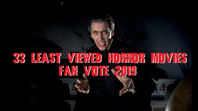 33 Least Viewed Horror Movies Fan Vote 2019 The Horror
