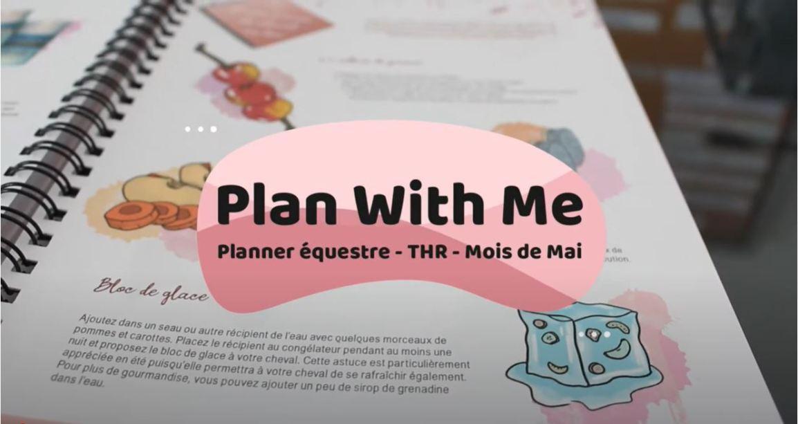 Planifier votre mois de Mai avec le planner THE HORSE RIDERS