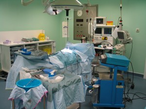 Operating Theatre with Monitors