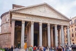 How To Photograph European Landmarks -5 Pantheon Rome
