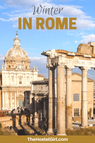 Winter in Rome with The Beehive Hostel