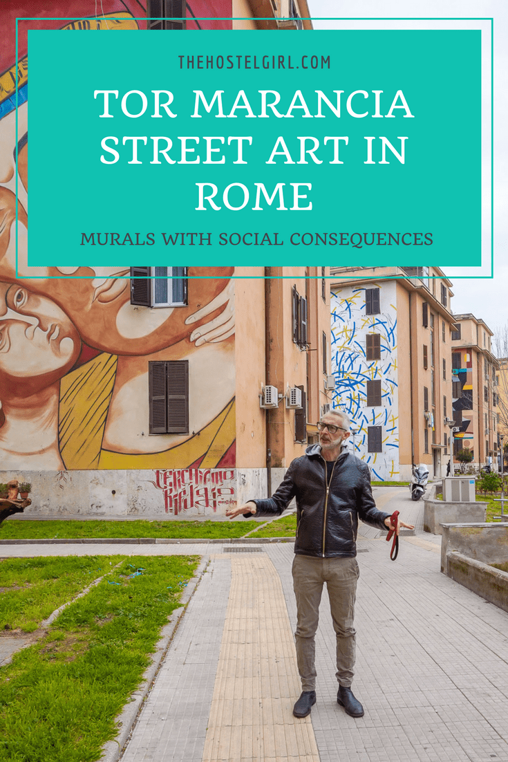 Tor Marancia Street Art in Rome: Murals With Social Consequences