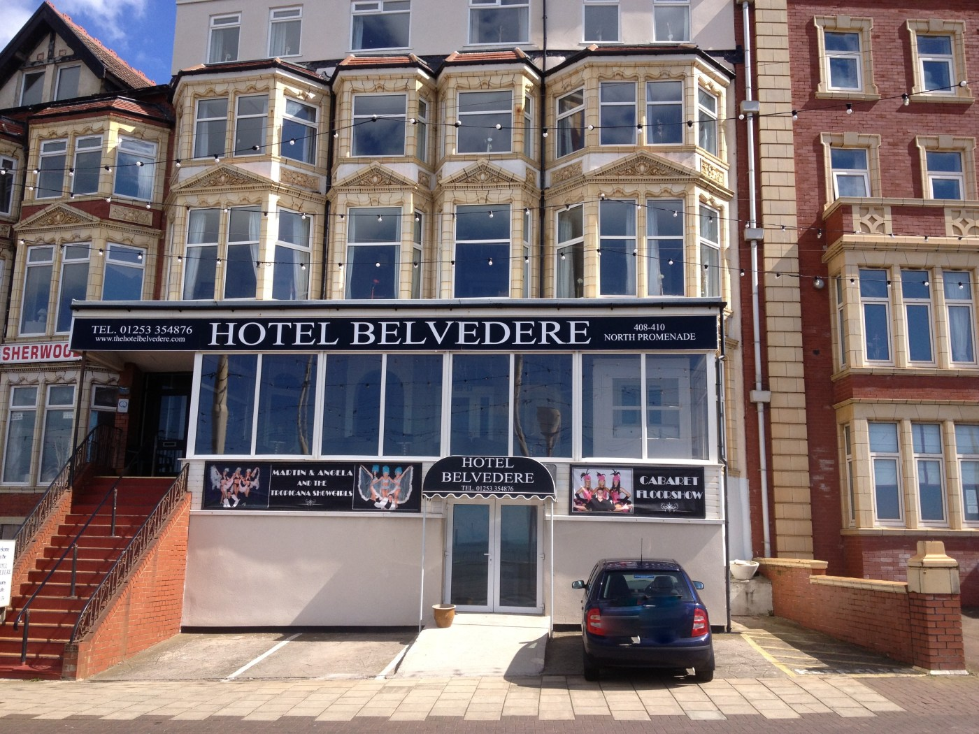 Hotel Belvedere Perfection Prom 01253 354876