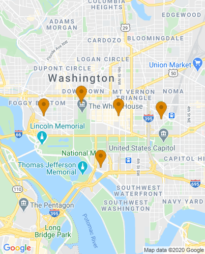 Maps Of Hotels In Washington Dc : hotels, washington, Hotels, Washington, Museums, Hotel
