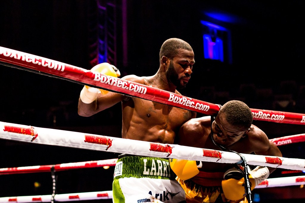 boxing, two boxers in ring