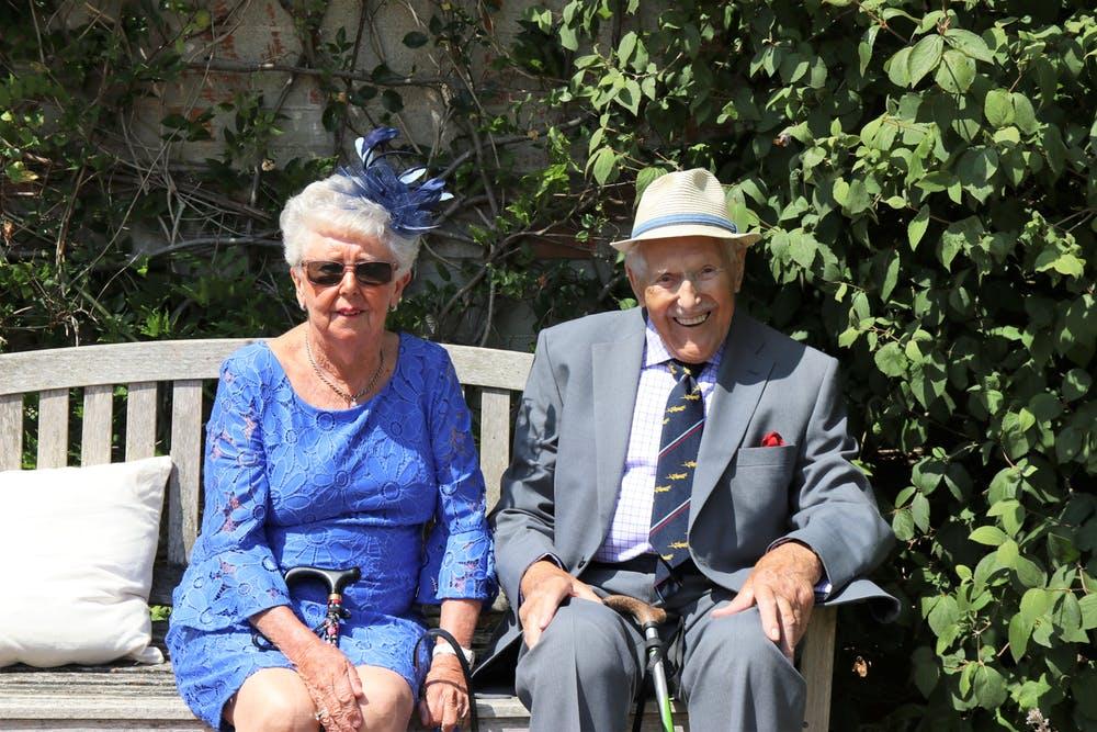 secrets to happy marriage, elderly couple