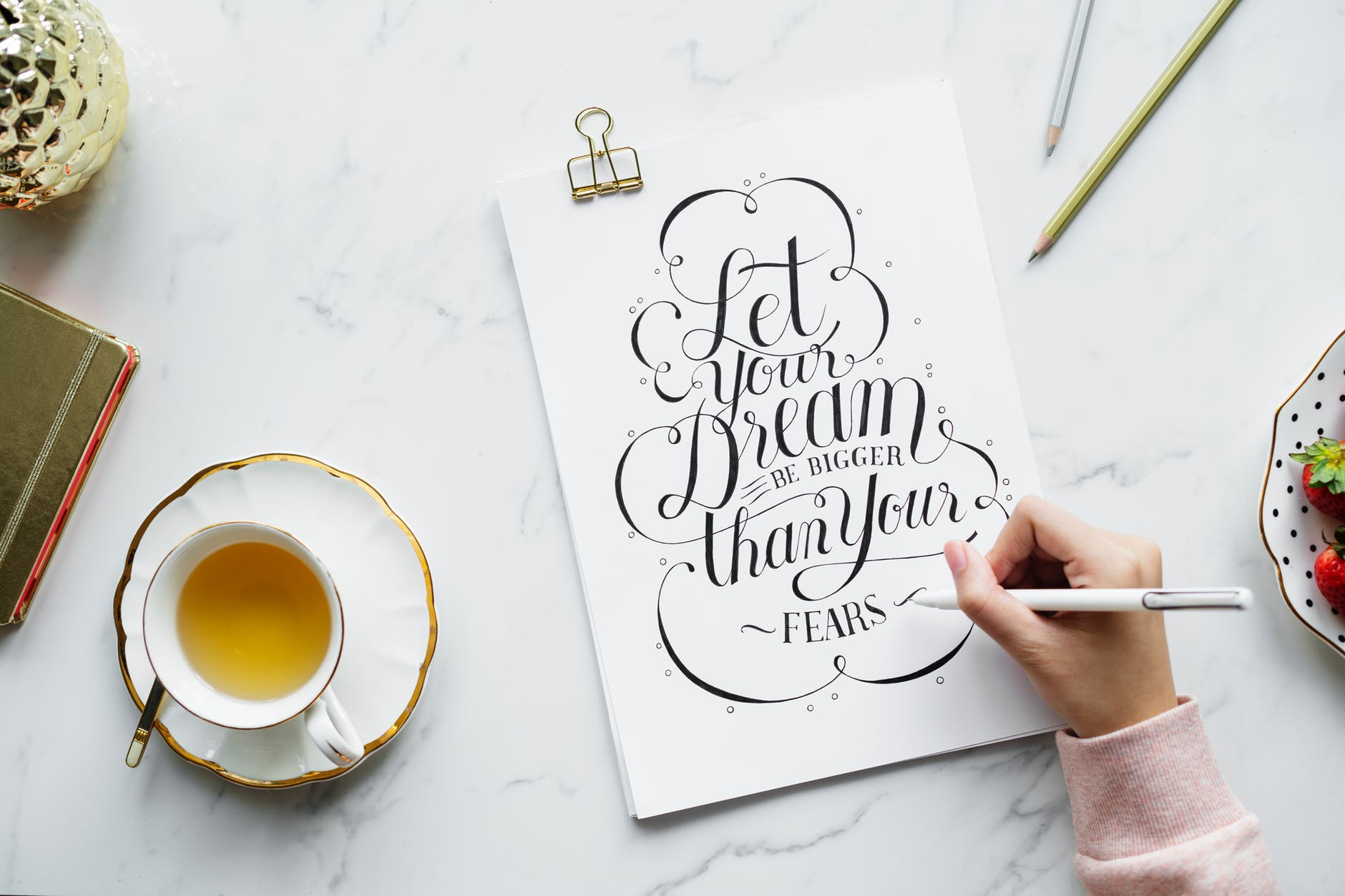 work from home, calligraphy sign