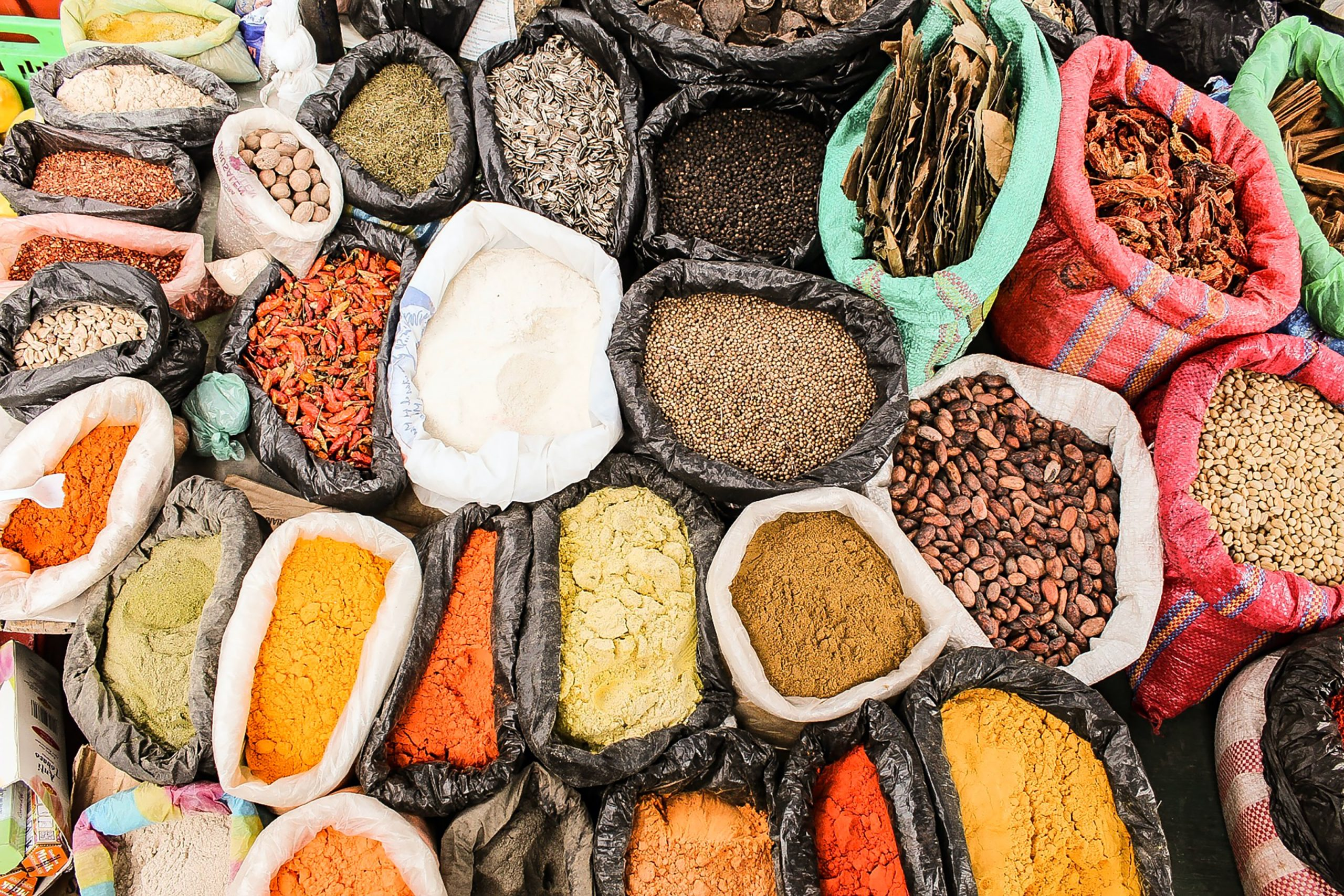 Spice up your health: part 1, bags of spices