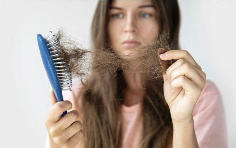 Woman, Brush, Hair