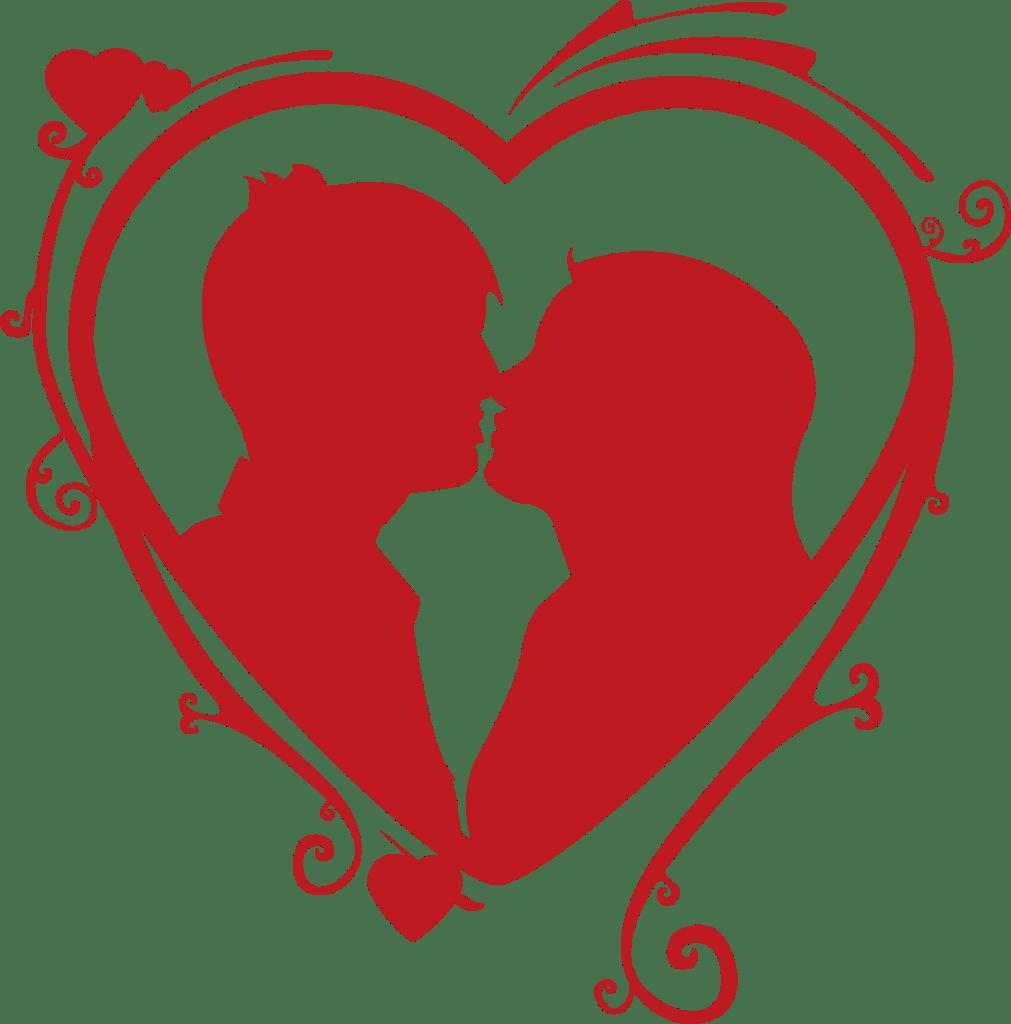 Corona love heart