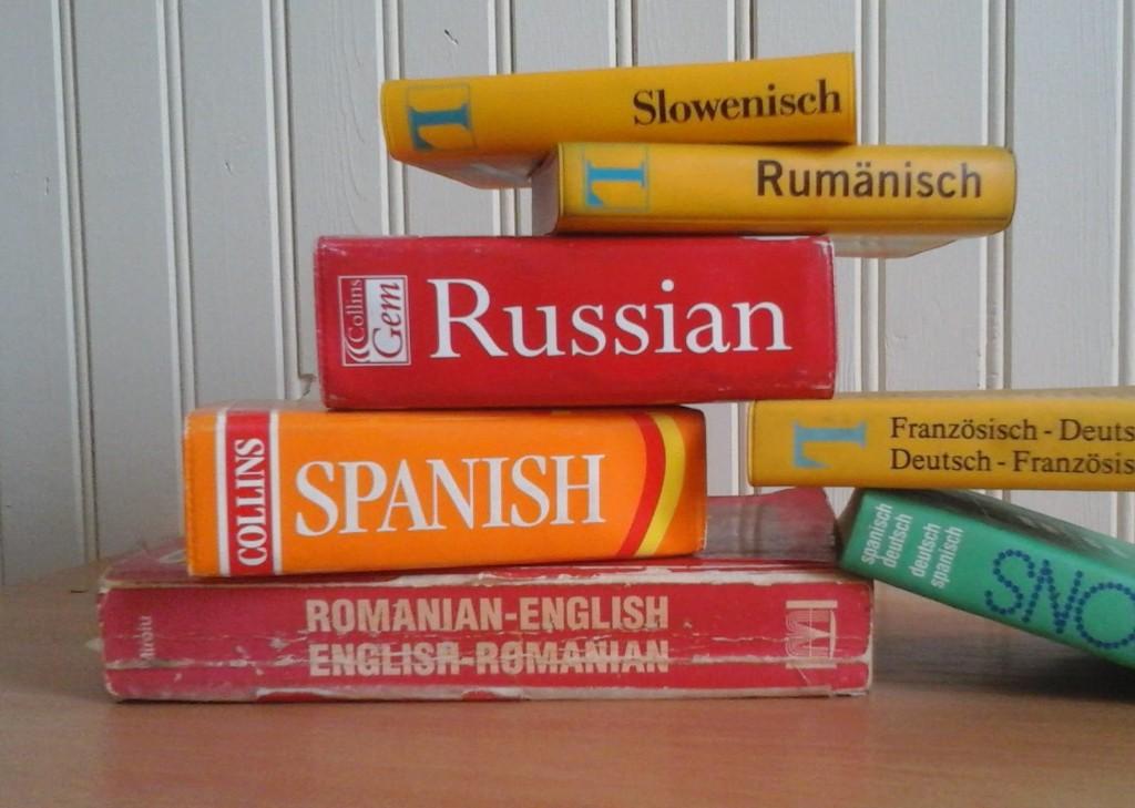 Books, languages