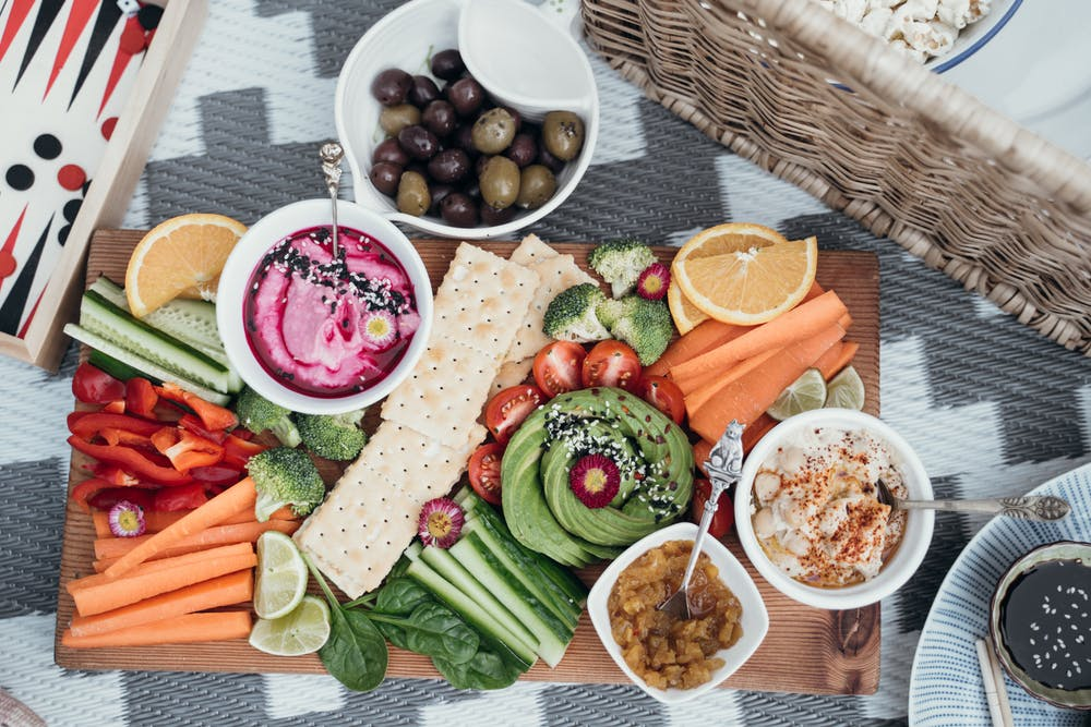 healthy food ideas, snack platter