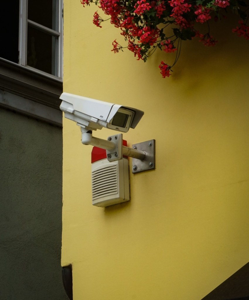 Burglars, security camera