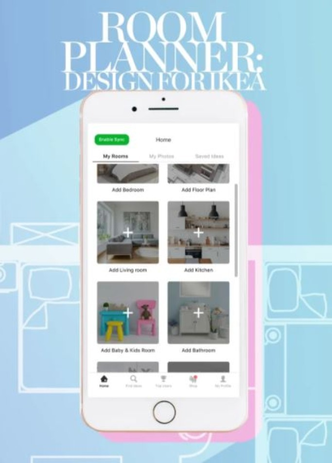 Design for IKEA Room Planner App