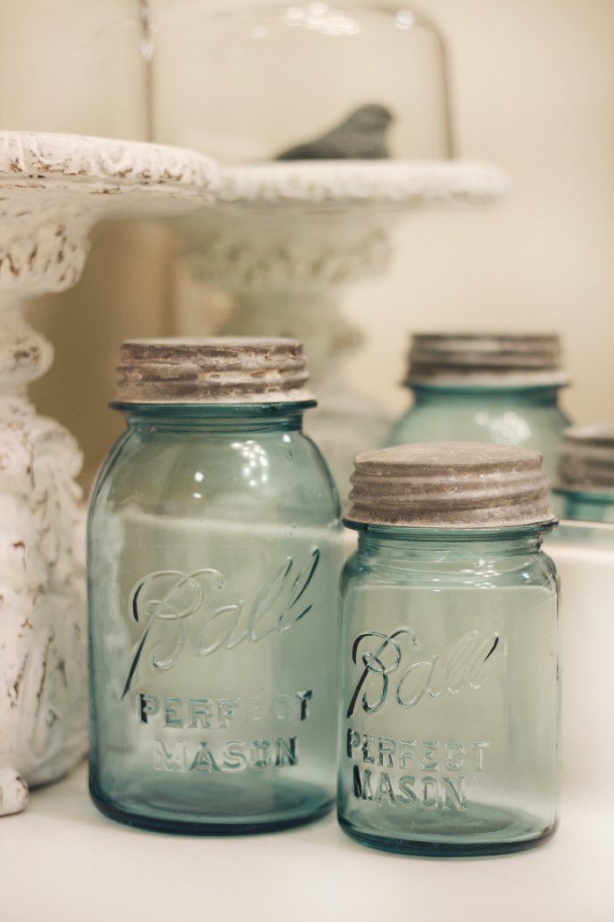 Mason Jars, homegrown preservation