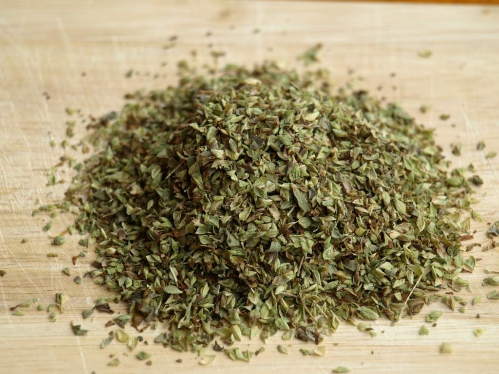 Microwave dry herbs