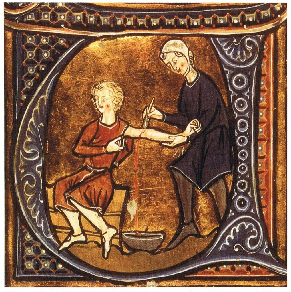 Doctor, Patient, Bloodletting