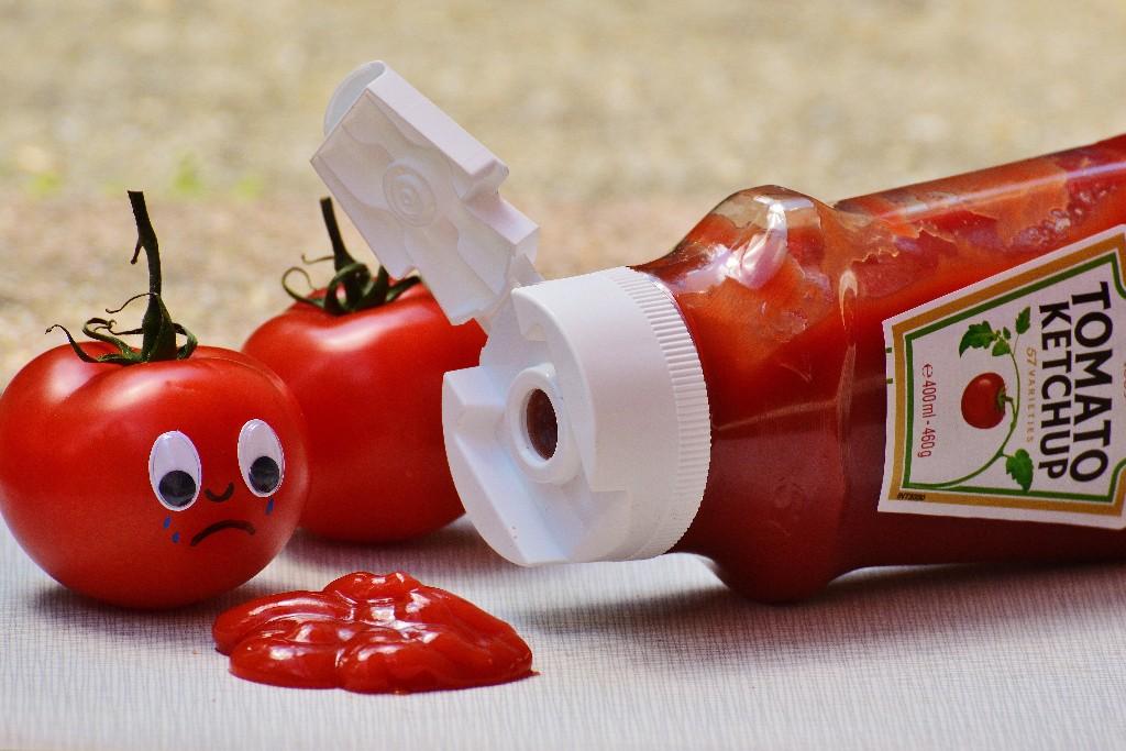 Modern food Ketchup