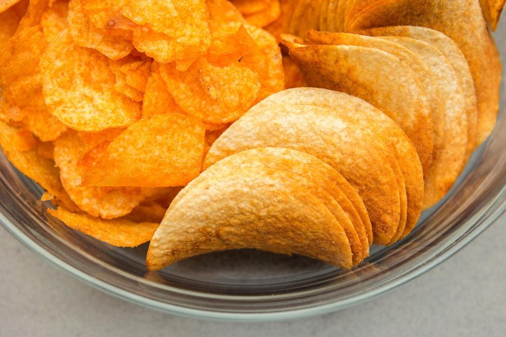 Modern Food Potato chips