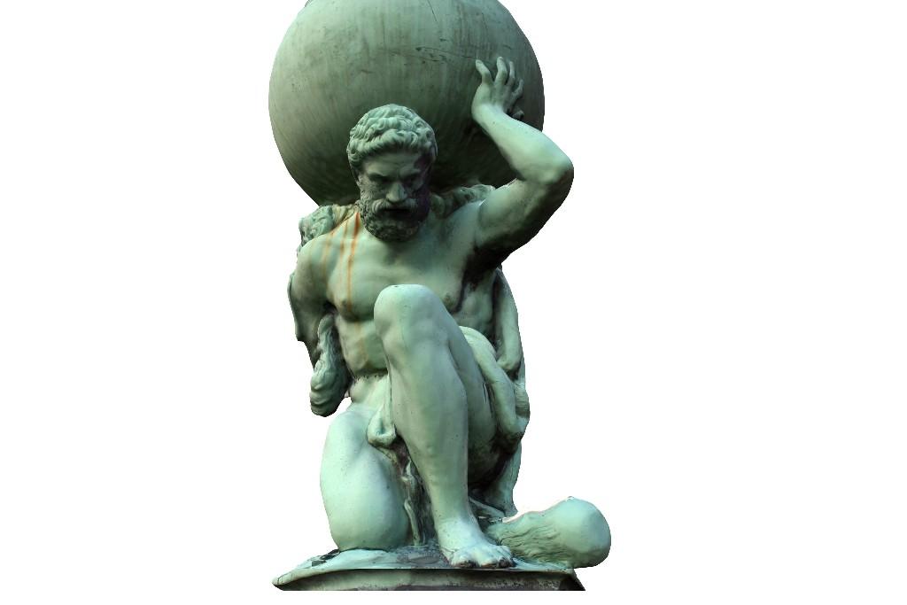 Priorities Atlas Statue