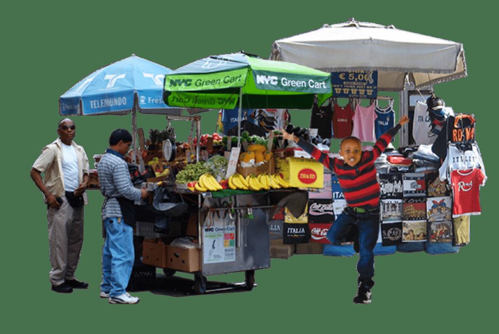 Priorities fruit vendor