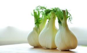 fennel, three bulbs countertop