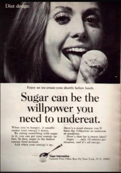 Diet Fads eat sugar