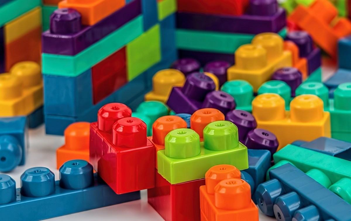 Lego blocks in Dishwasher